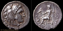 Drachme au Type d'Alexandre le Grand (Po...