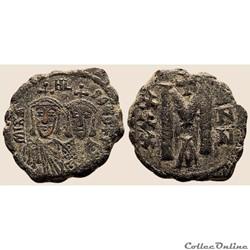 Michael I et Theophile (811-813) Follis ...