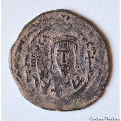 Phocas (602-610), Follis Nicomedia - Sea...