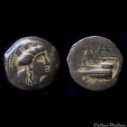 PHÉNICIE - ARADOS - Chalque (entre 242 e...