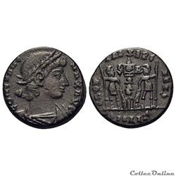Constans AD 337-350. Alexandria Nummus 337/340 - RIC 7 (C2)