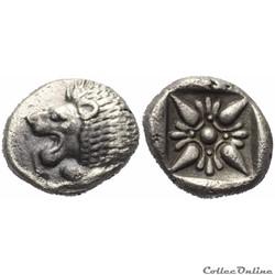 """Milet (Ionia) Diobole """"au Lion et à la fleur"""" a gauche"""