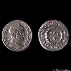 CRISPUS (317-326) - nummus - ARLES - RIC 254