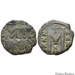 LEO V & Constantine (813 - 820) Follis C...