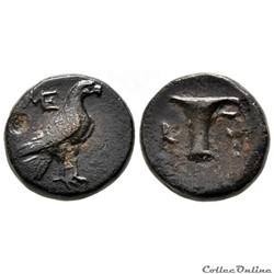 Aeolis - Kyme, Unité de Bronze, (250 - 200 av jc)