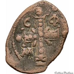 """Alexis I """"Comnène""""  (1081-1118 AD) Tetar..."""