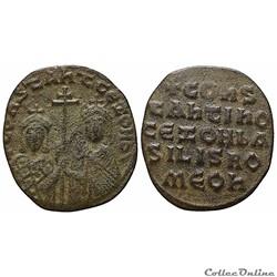Constantin VII et Zoé - Follis (920-944), Constantinople - Sear 1758