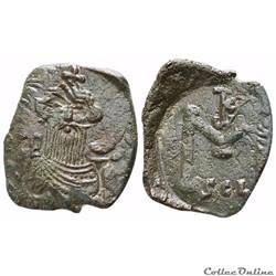 CONSTANS II (641-668)  follis Syracuse -...