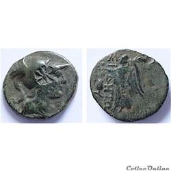 PAMPHYLIE SIDÉ - Unité de bronze (120-80 av.jc.)