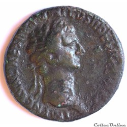 "Nerva (96-98). As à ""Liberté Public"" Rom..."