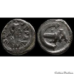 Pentanummium d'Anastase émis à Constanti...