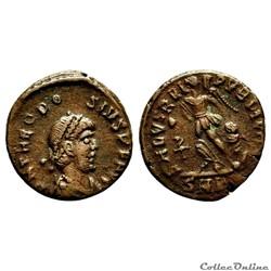 THEODOSE Ier (379-395) Nummus - RIC.26