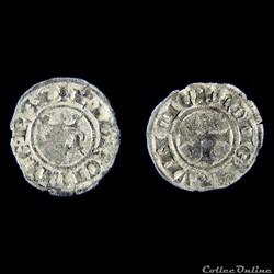 Comté de Provence - Charles Ier d''Anjou (1245-1285) Au titre de roi de Sicile et de Jérusalem.
