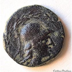 Phrygie, Apamée , Bronze Athena à la chouette (IIe au Ier s. av.JC)