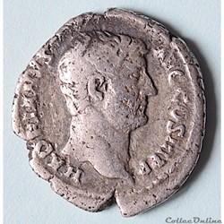 Hadrien - denier - (AD 134-138) Rome RIC...