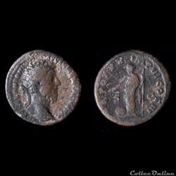 MARC AURELE Auguste (161-180), AE dupondius, 165-166, Rome