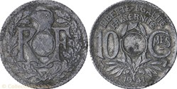 10 centimes lindauer   non troué