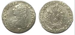 """Écu dit """"aux branches d'olivier"""" 1789 Ba..."""