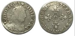 """Quatre sols dits """"des traitants"""" 1675 Ly..."""