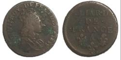 liard de France 1655 A