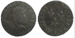 Double tournois LOUIS XIII LE JUSTE 1637...