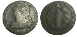 """2 sols dit """"au faisceau"""" 1792 .A."""