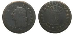 Sol dit à l'écu Louis XVI 1786 R