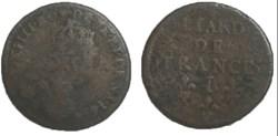 liard de France Louis XIV 1656 I