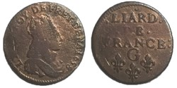liard de France 1658 G