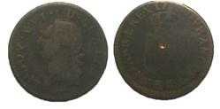 Sol dit à l'écu Louis XVI 1787  R