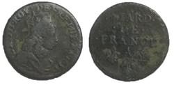liard de France Louis XIV 1655 A
