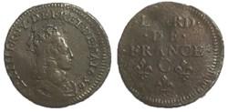 liard de France 1656 C