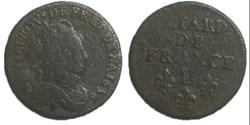 liard de France 1656 D