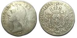 "Écu dit ""au bandeau"" de Béarn 1757 Pau L..."