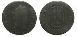 Demi-sol dit à l'écu Louis XVI 1787 AA