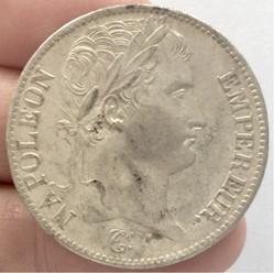 5 francs Napoléon 1er 1808 A Paris tête ...