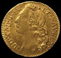 Louis d'or au bandeau Louis XV 1764 & Ai...