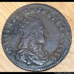 Liard de France Louis XIV 1658 G