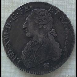 Écu aux branches d'oliviers Louis XVI 1789 I Limoges