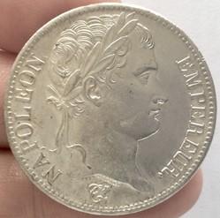 5 francs Napoléon 1er 1813 A Paris tête ...