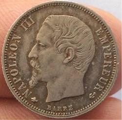 50 cent Napoléon III 1859 BB tête nue ST...