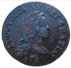 Demi Sol au buste enfantin Louis XV 1721...