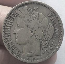 2 francs Cérès sans légende 1871 K Borde...