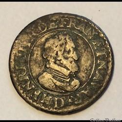 Double tournois 1610 D Lyon Henri IIII C...
