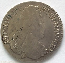 44 sols de Strasbourg Louis XIV 1711 BB