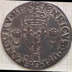Douzain aux croissants Henri 2 1557 B Ro...