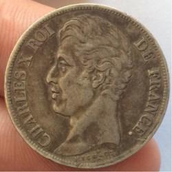 2 francs Charles X 1828 D Lyon
