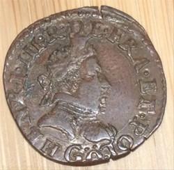 Double tournois Henri III 1581 G Poitier...