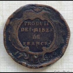 Seize deniers des mines du Béarn Louis X...