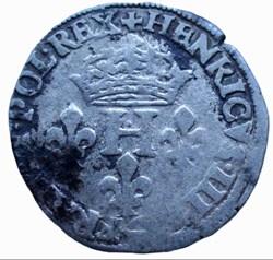 Sol parisis Henri III 1578 point 18ème P...